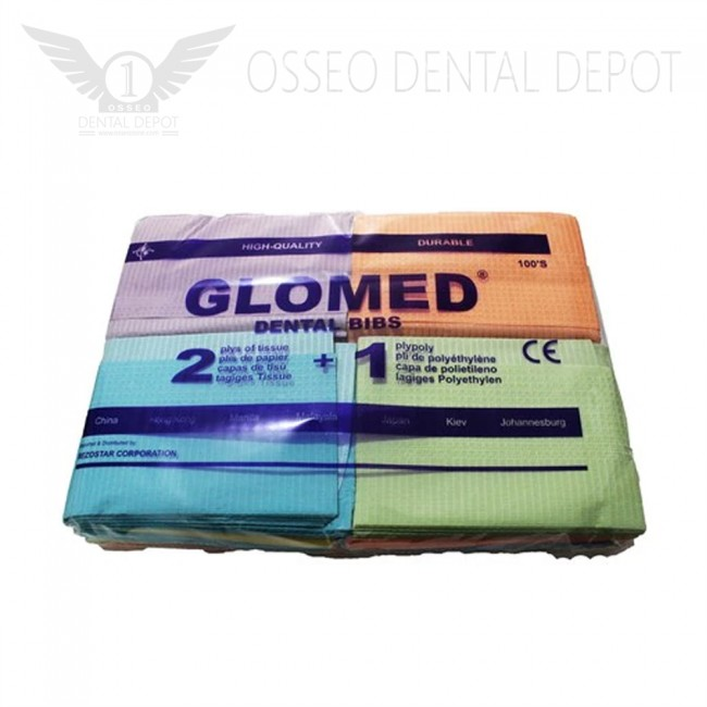Glomed Dental Bibs (100pcs/pkg)