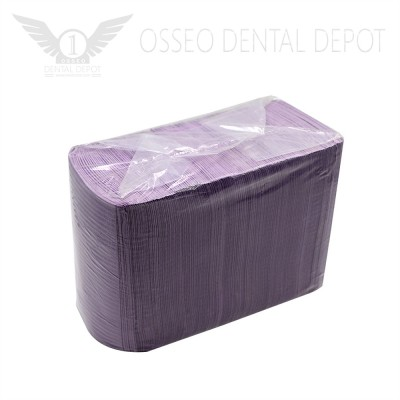 Disposable Dental Bib Violet (125pcs/pkg)