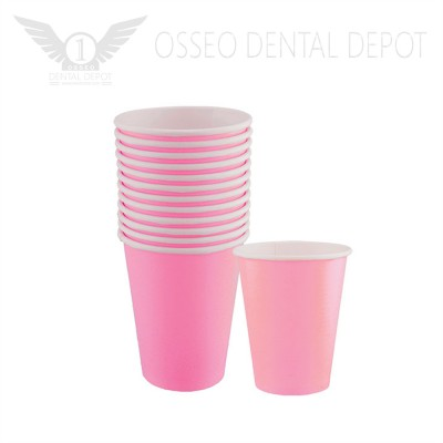 6oz Disposable Paper Cup - Pink (50pcs/case)