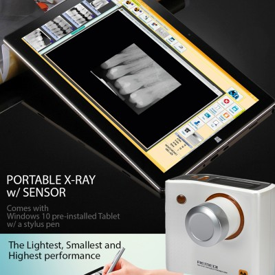 Portable X-ray + Sensor + Windows 10 Tablet  Package