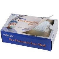 Anti Fog Eye Protection Face Mask (50pcs/pkg w/ shields & ribbons)