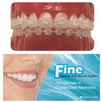Speed Dental Fine Sapphire Ceramic Bracket, Korea (FR222)