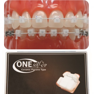 Speed Dental One Self-CP (Self Ligation Ceramic Passive Brackets)