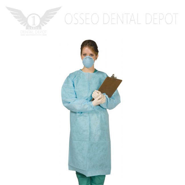 """Glomed 40"""" Medium Disposable Surgical Gown"""