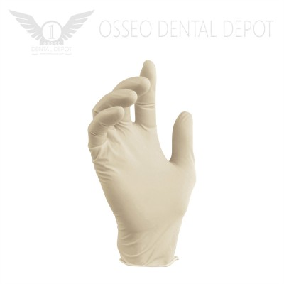 Glomed Disposable Vinyl Gloves, 100pcs/pkg