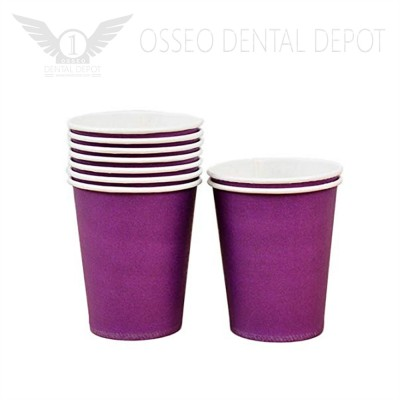 6oz Disposable Paper Cup - Violet (50pcs/case)