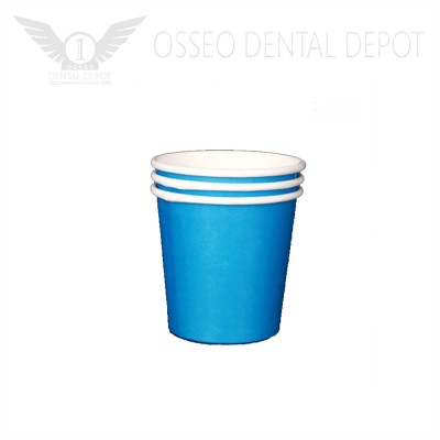 6oz Disposable Paper Cup - Blue (50pcs/case)