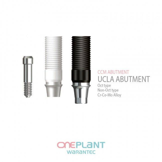 FIT UCLA, CCM Abutment & Temporary Cylinder (Oneplant System)