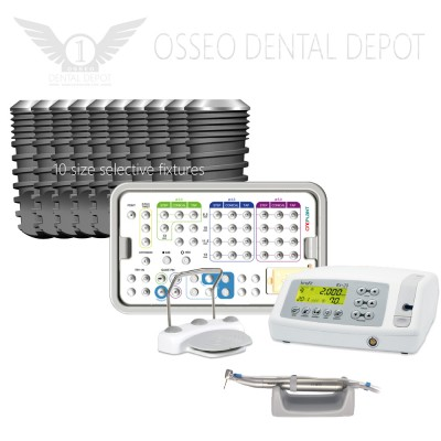 Entry Package Promo of Oneplant, Buy 10 sets of implant & Surgical kit, Get Free 10 Fixtures