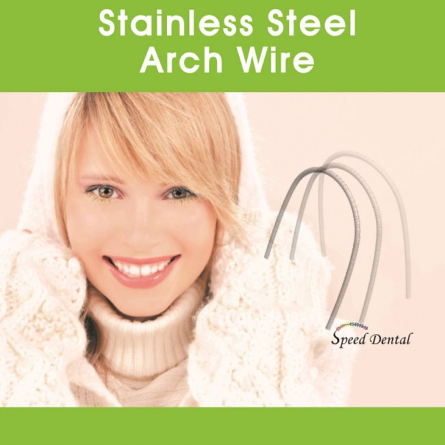 Speed Dental Stainless Steel Wire, 10 pcs/pk (SDSS)