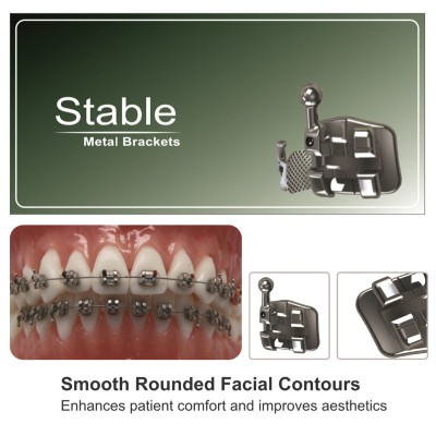 Speed Dental Stable Metal Bracket Premium (251.252.253.254)