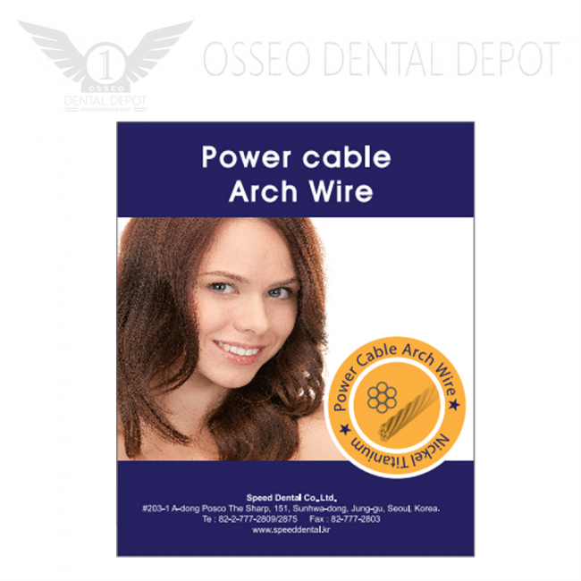 """Speed Dental Power Cable Wire .016"""" 10Pcs/Pack (SDPC-016)"""