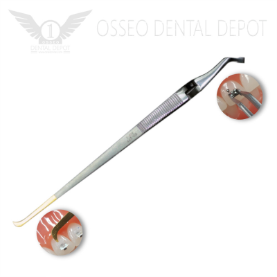 Speed Dental Bracket Tweezer (Gold Tip) D-277